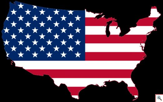 640px USA Flag Map.svg